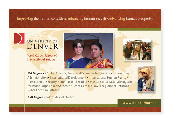 University of Denver - Advertisement